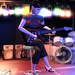 Iron Roses (TM) - Help Alex reunite her rockin' old band in this music-themed adventure! - logo