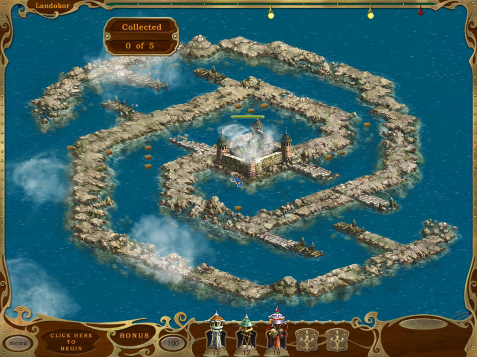 Island Defense screen shot