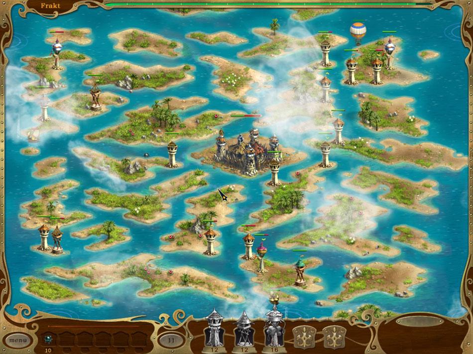 Island Defense screen shot