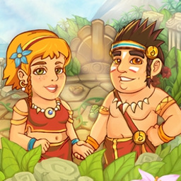 Island Tribe 3 Online - Find the magic runes, rescue the bride, and dive into exciting island adventures in Island Tribe 3- now in an online version! - logo