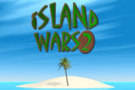 Save your branches and bomb the enemy island while collecting weapons.