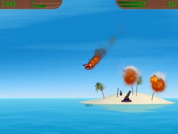 Island Wars 2 screen shot