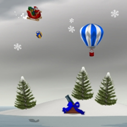 Island Wars 2 Christmas Edition - Hop in your sled and bomb the enemy island! - logo