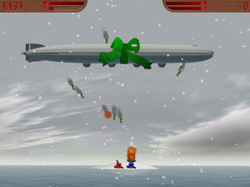 Island Wars 2 Christmas Edition screen shot