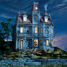 I SPY Spooky Mansion - Uncover the secrets of a dark, mysterious house in I SPY Spooky Mansion! - logo