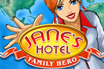 Jane has to buy and manage her family's chain of hotels around the world.
