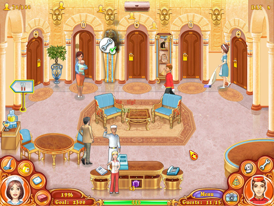 Jane's Hotel Mania screen shot