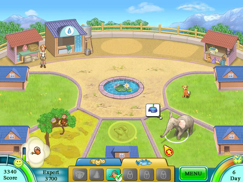 Jane's Zoo screen shot