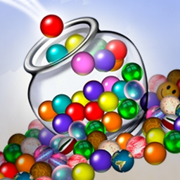 Jar of Marbles - Jar of Marbles is a match-3 puzzle game that utilizes realistic physics! Match colored marbles in groups of three or more to clear them from the jar. - logo