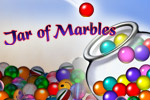 Jar of Marbles is a match-3 puzzle game that utilizes realistic physics! Match colored marbles in groups of three or more to clear them from the jar.