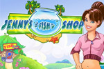 Help Jenny build a spectacular aquatic attraction in Jenny's Fish Shop!