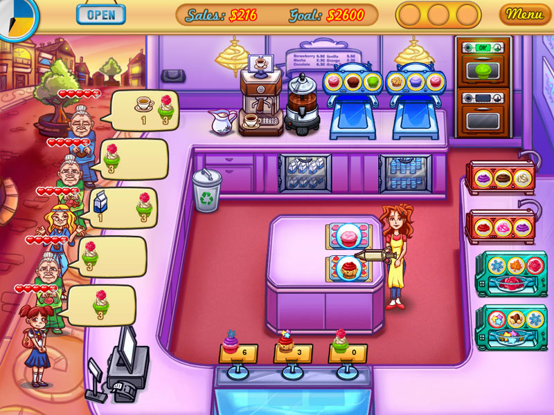 Jessicas Cupcake Cafe screen shot