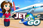 Jet Set Go features 5 unique styles of Time Management gameplay with 16 exotic vacation destinations. Play through all 3 difficulty settings!