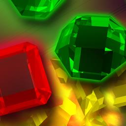 Jewel Explosion - The more gems you explode, the more points you score! This Match 3 game keeps you puzzling through chain reactions all day! - logo
