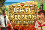 Reveal the secrets of a match-3 paradise in Jewel Keepers: Easter Island!