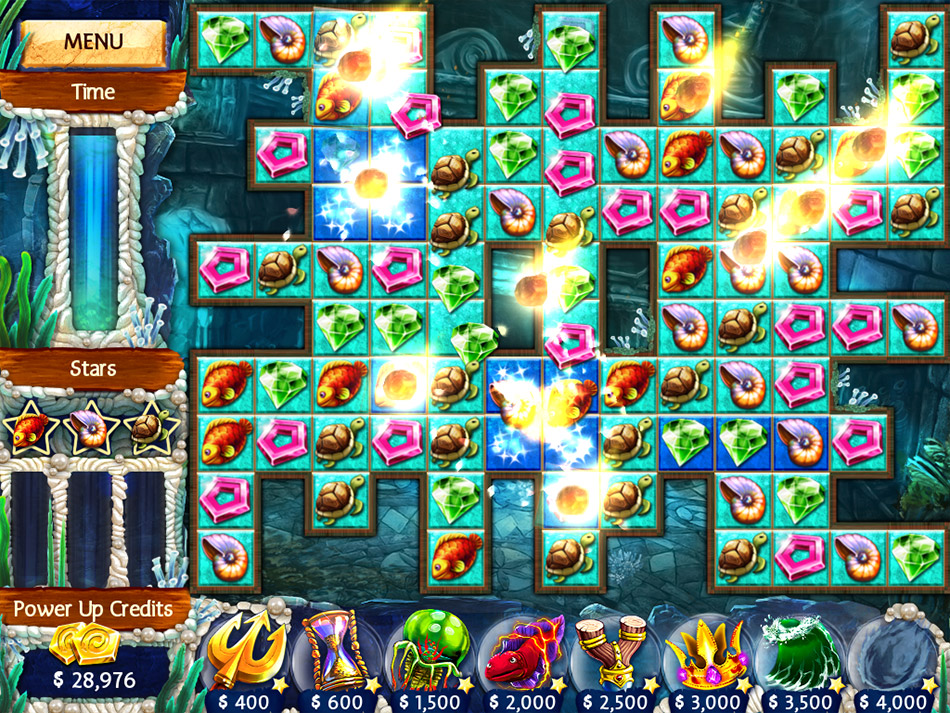 Jewel Legends Atlantis screen shot