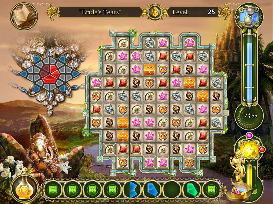 Jeweller: The Cursed Treasures screen shot