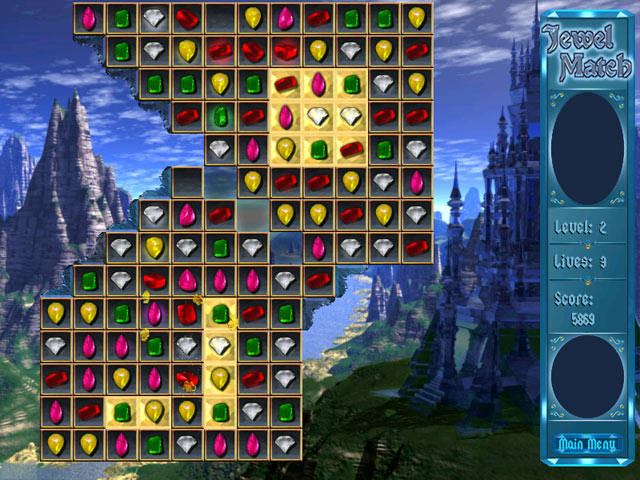Jewel Match screen shot