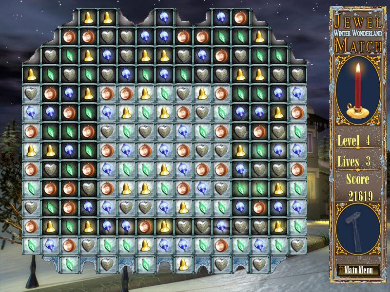 Jewel Match Winter Wonderland screen shot