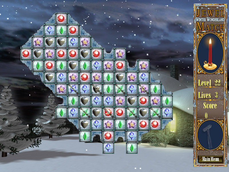 Jewel Match Winter Wonderland screen shot