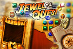 Match 3 jewels or more and turn sand into gold in the original Jewel Quest!