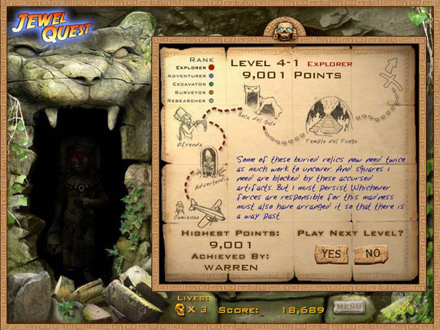 Jewel Quest screen shot