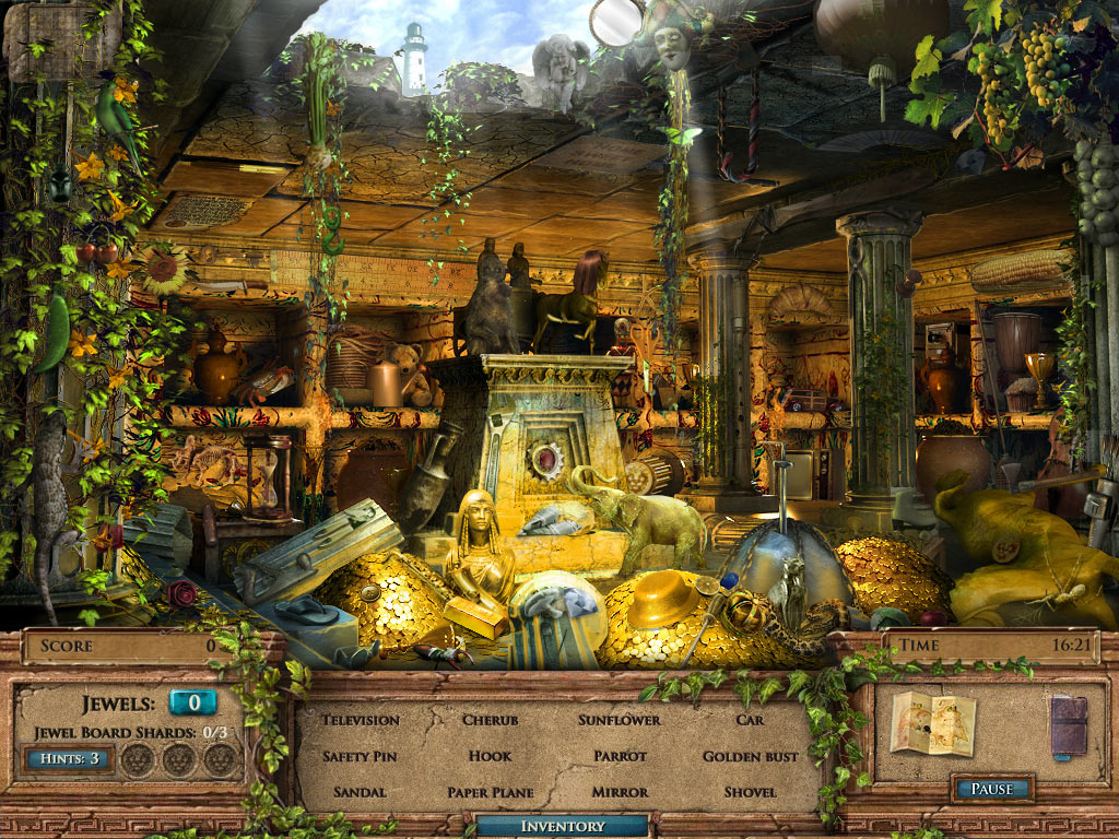 Jewel Quest Mysteries: The Seventh Gate Collector's Edition screen shot