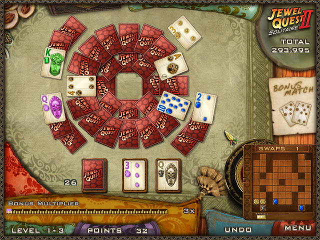 Jewel Quest Solitaire 2 screen shot