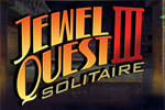 Jewel Quest Solitaire III is 100 fresh boards of solitaire and match 3!