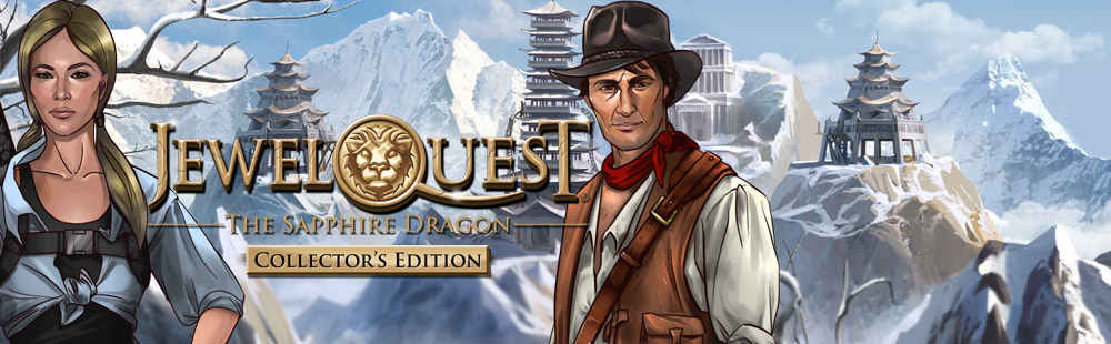 Jewel Quest® The Sapphire Dragon Collector's Edition