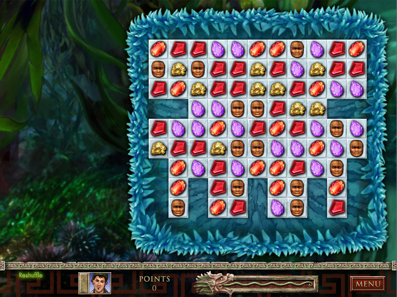 Jewel Quest® The Sapphire Dragon Collector's Edition screen shot