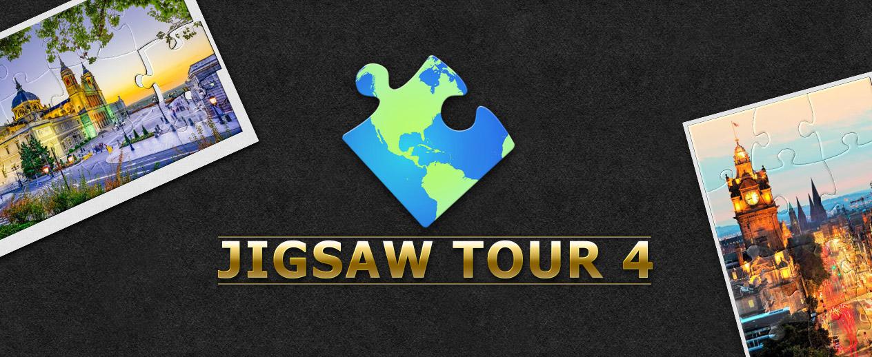 Jigsaw Tour 4 - Travel the world!