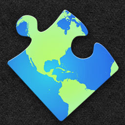 Jigsaw World Tour - Put together 700 beautiful photos and go on an unforgettable trip around the world with Jigsaw World Tour. - logo