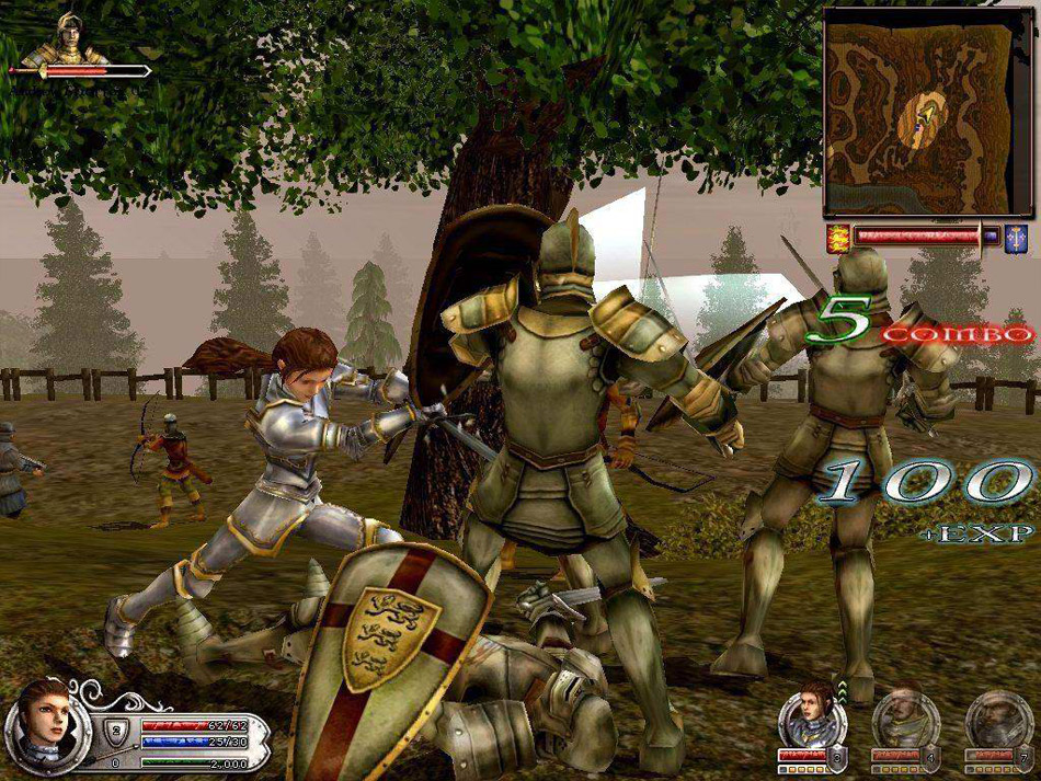 Wars and Warriors: Joan of Arc screen shot