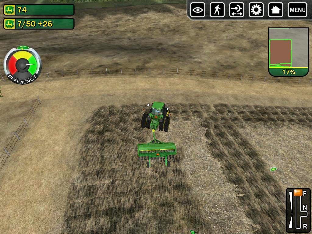 John Deere Drive Green screen shot
