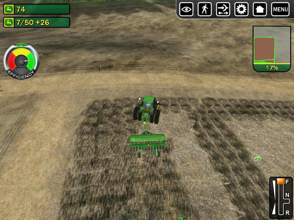 John Deere Drive Green screen shot