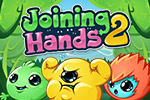 Will you help the Peablins?  Drag and drop the adorable critters so that everyone is holding hands in this cute puzzle game, Joining Hands 2.