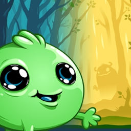 Joining Hands - Join the Peablins on their quest to find all their siblings and cousins in this adorable drag-and-drop puzzle game! Play Joining Hands now. - logo