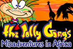 The Jolly Gang's Misadventures in Africa is packed with hours of zany, brainy fun! Embark on a madcap adventure through the African outback.
