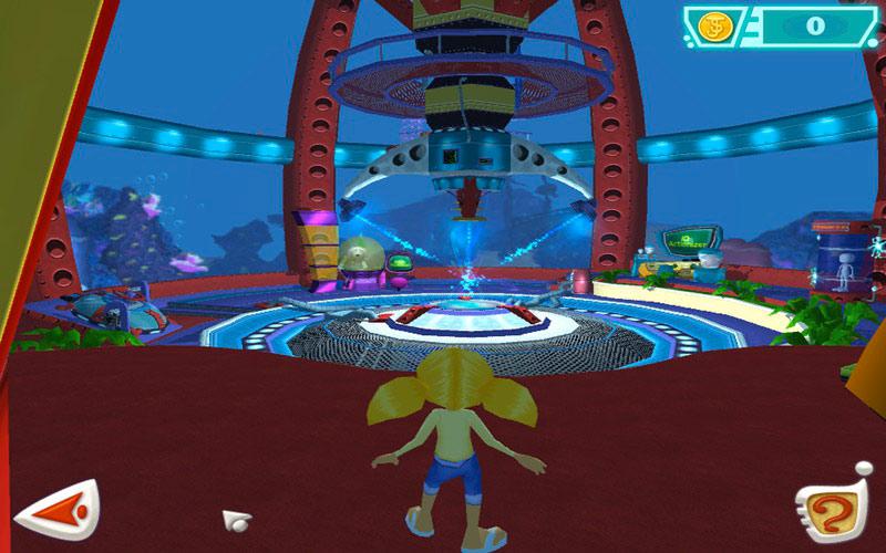 JumpStart Advanced 3-5 The Adventures of Dr. Brain screen shot