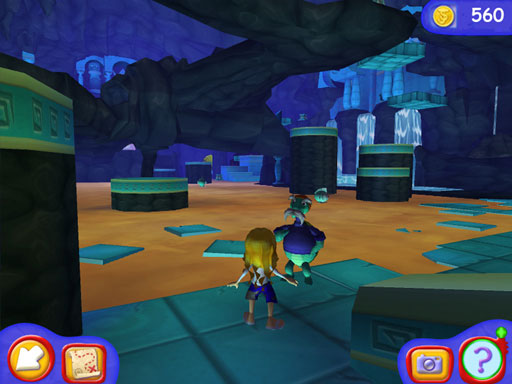 JumpStart Advanced K-2 Lost Island Quest screen shot