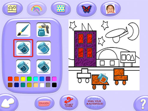 JumpStart Advanced Preschool StoryLand screen shot