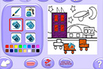 Screenshot of JumpStart Advanced Preschool StoryLand