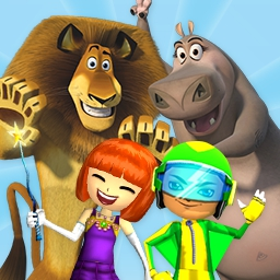 Jump Start - Explore the magical world of JumpStart! Train mythical creatures, play with the Penguins of Madagascar, and journey with your friends! - logo