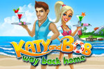 When vacations go awry, it is your turn to help. In Katy and Bob: Way Back Home, experience what it takes to build up a tropical bar! Play today!