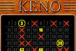 To play Keno, simply pick numbers on the board and decide how much you want to bet. It's like playing the lottery without losing a penny!