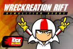 In Kick Buttowski: Wreckreation Rift a demolition derby comes to Mellowbrook Arena! Drive and bump your competition in this arcade race!