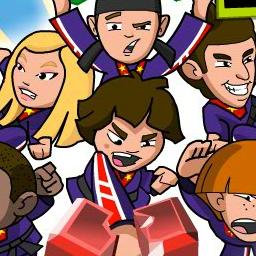 Kickin It: Breakin It In China - Puzzle through and break blocks to win the Junior World Martial Arts Championship! - logo