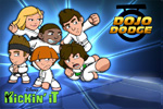 In Kickin' It: Dojo Dodge, practice your karate skills at the Bobby Wasabi dojo! Destroy bricks, planks and more!