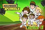 In Kickin' It: Hollywood Rumble, conquer the Great Wasabi Challenge! Avoid your enemies and pick up special items in this free online game.